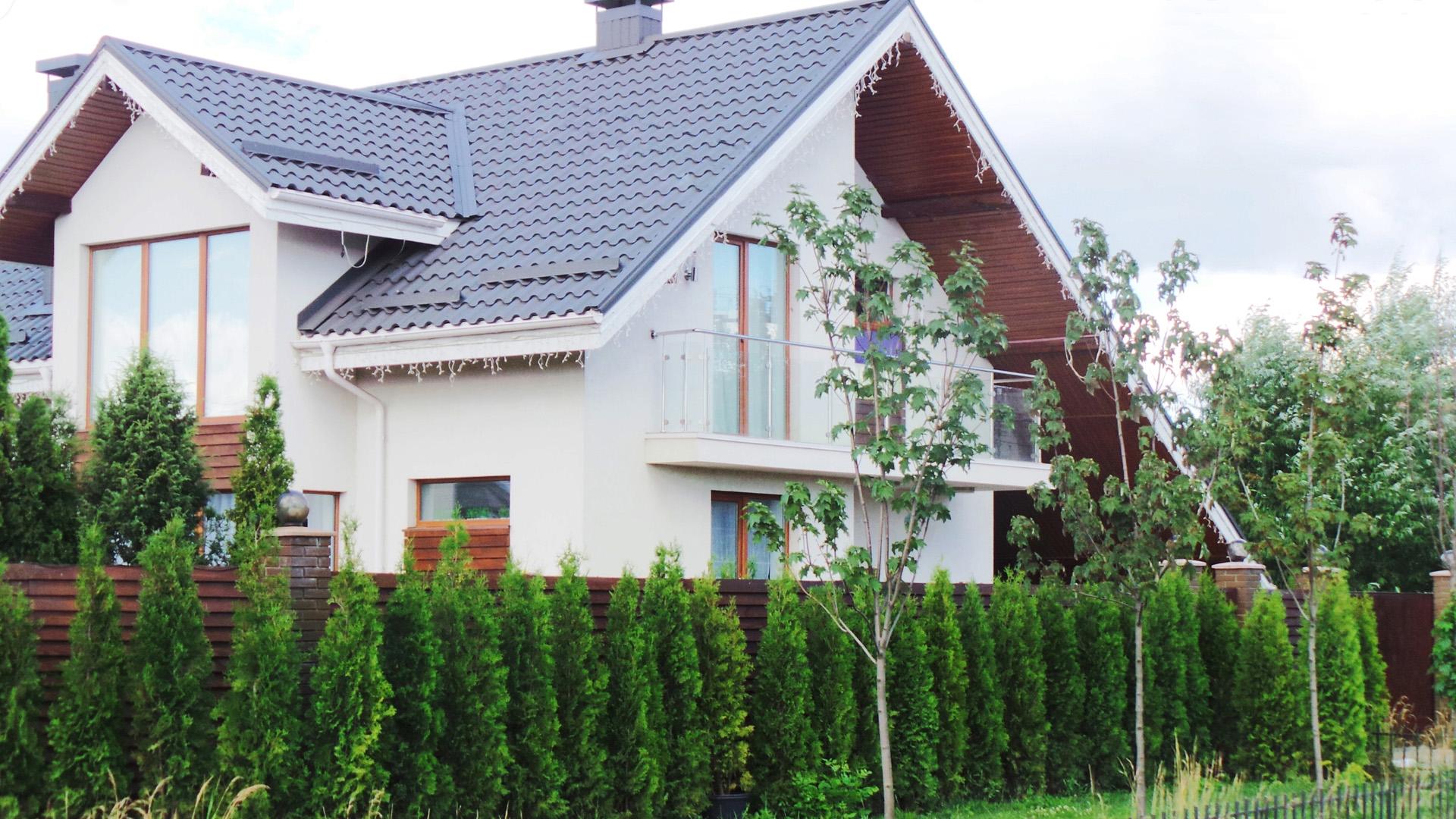 Cottages in the Petropavlovskaya Borshchagovka