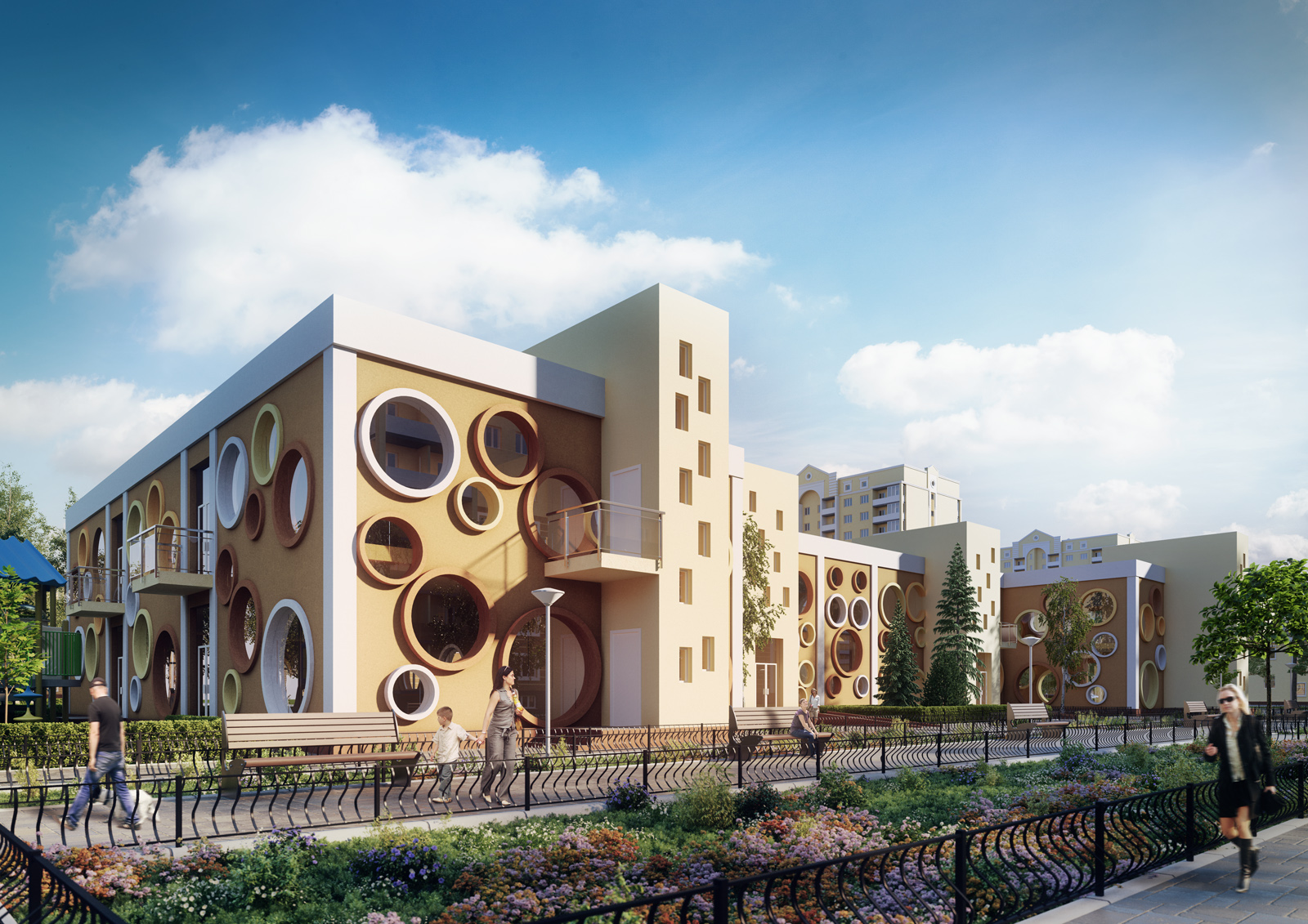 "Project kindergarten in rc""Sofiyevskiy"""