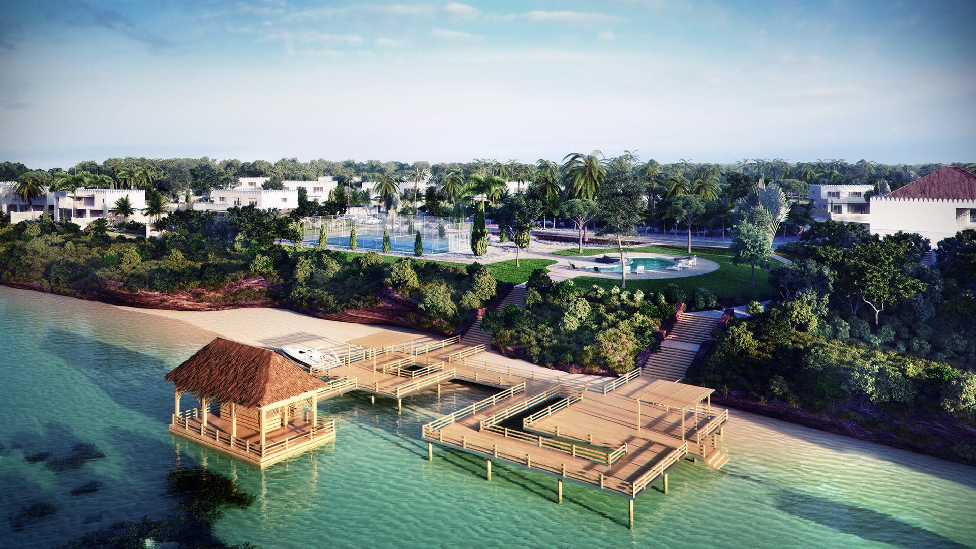 Project resort in Zanzibar